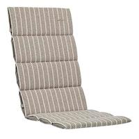 Kettler Polsterauflage Sessel 100 % Polyester braun-gestreift