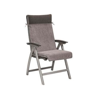 Kettler HKS Auflagenschonbezug Sessel hellgrau/anthrazit
