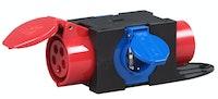 Kopp CEE-Kompaktverteiler CEE Stecker 16A