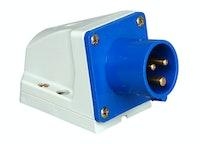 Kopp Caravan Wandstecker blau 3-polig