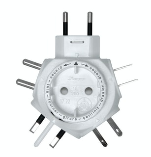 Kopp Reise-Stecker-Adapter TRAVEL-STAR©