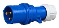 Kopp Caravan- Stecker blau 3-polig