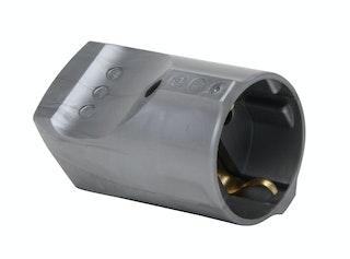 Kopp Kunststoff-Schutzkontakt-Kupplung 16A silber