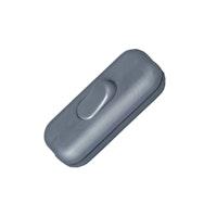 Kopp Schnurzwischenschalter 1-polig 2A silber