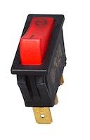 Kopp Einbau-Wippenschalter beleuchtet, 1-polig