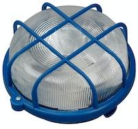 Kopp Rundarmatur mit Kunststoffkorb 100W blau