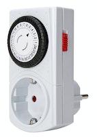 Kopp Tages-Zeitschaltuhr Mini mechanisch weiß