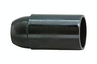 Kopp Isolierfassung E14 schwarz