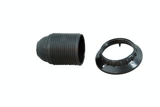 Kopp Isolierstoff-Fassung E27 schwarz
