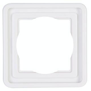 Kopp Abdeckrahmen 1-fach arktis-weiß