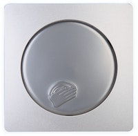 Kopp Abdeckung für Tastdimmer Dimmat PARIS silber
