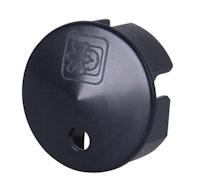 Kopp Sicherheitsabdeckung für Steckdose, schwarz