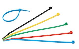 Kopp Kabelbinder farbig, 200 x 4,6 mm