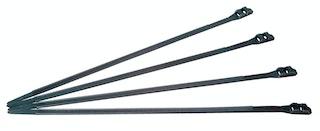 Kopp Kabelbinder schwarz, extra stark, 360 x 9 mm