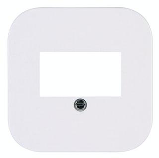 Kopp Abdeckung für TAE-Telefon-Anschlussdose Donau arktis-weiß