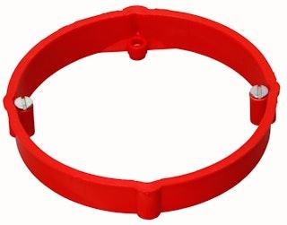 Kopp Putzausglechsring für Abzweigdose Ø 70 mm, rot