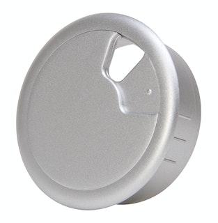 Kopp Kabeldurchgangsdose Ø 60 mm silber