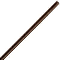 Kopp Minikanal 13x12,5 mm, 2m, braun