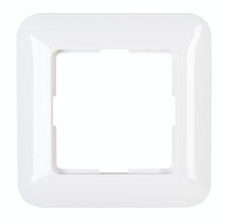 Kopp Abdeckrahmen CADIZ 1-fach arktis-weiß