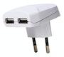 Kopp USB-Adapter 2-fach 2100mA
