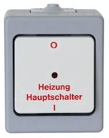 Kopp Heizungshauptschalter AP-Feuchtraum STANDARD beleuchtet