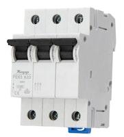 Kopp Leitungsschutzschalter 3-polig 20A