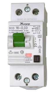 Kopp Fehlerstrom-Schutzschalter 16A