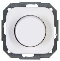 Kopp Druck-Wechseldimmer DONAU elektrisch, arktis-weiß