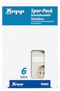 Kopp Steckdose cremeweisselektroweiss - 920701058