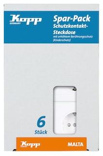 Kopp Steckdose weiss - 923413051
