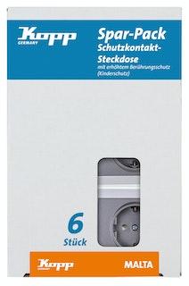 Kopp Steckdose anthrazit - 923415053