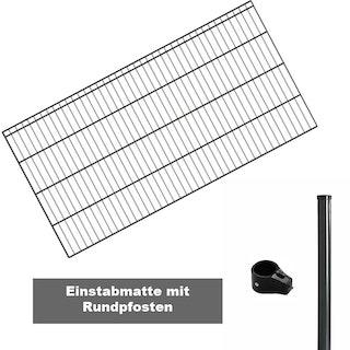 Kraus Dino trend Komplettset - Rundpfosten - 2-50 Meter