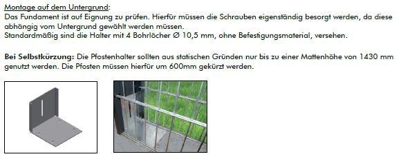Kraus Pfostenhalter Infos