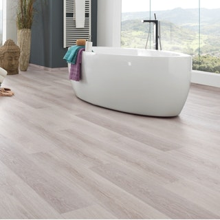 KWG Designvinyl ANTIGUA INFINITY Silbereiche weiss - HYDROTEC