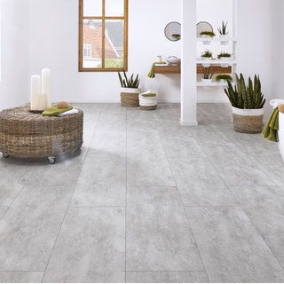 KWG Designervinyl ANTIGUA STONE Cement light-Exclusiv