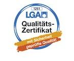 LGA QualitätsZertifikat