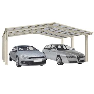 Ximax Carport Linea Typ 110 M-Ausführung 495,4 x 545,6 cm
