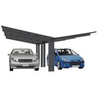 Ximax Carport Linea Typ 110 Y-Ausführung 495,4 x 547,7 cm