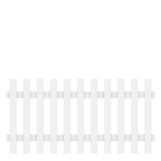 Traumgarten LONGLIFE CARA XL weiß gerade 180x90 cm