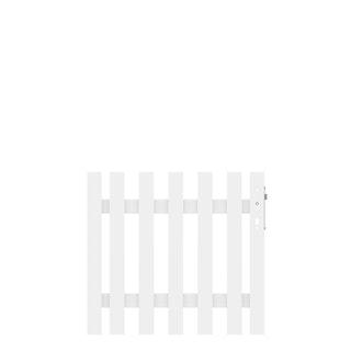 Traumgarten LONGLIFE CARA XL Weiß Tor gerade 98x90 cm