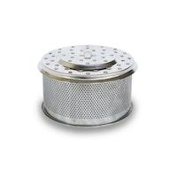 LotusGrill Holzkohlebehälter-Edelstahl für LotusGrill Holzkohlegrill XL