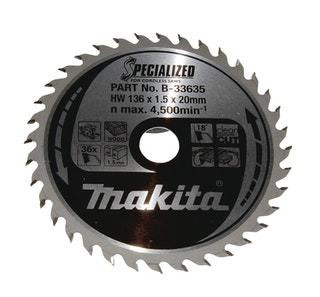 Makita SPECIALIZED Sägeb.136x20x36Z B-33635