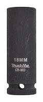 """Makita Steckschlüssel 1/2"""" 18 x 81,5 mm B-52227"""