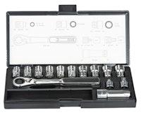 Makita Durchgangs-Steckschlüssel-Set B-65595