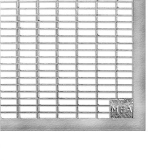 MEA Lichtschacht Gitterrost befahrbar - Breite=100 cm - versch. Tiefen