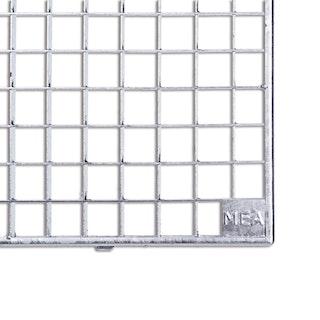 MEA Lichtschacht Gitterrost begehbar 80 cm x 40 cm