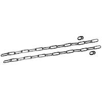MEA Lichtschacht Sicherungskette für MULTINORM LS-Tiefe 70 cm