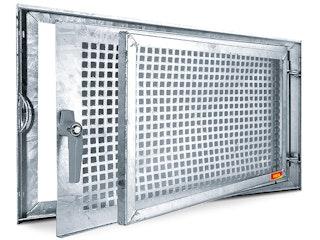 MEA Stahlkellerfenster MEALIT verzinkt Einflügelig - versch. Größen