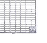 MEA PVC-Aufsatz MEAFLEX Gitterrost Masche 30/10