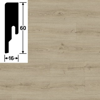 MeisterWerke Steckfußleiste Stieleiche pure 6985 - 20 PK